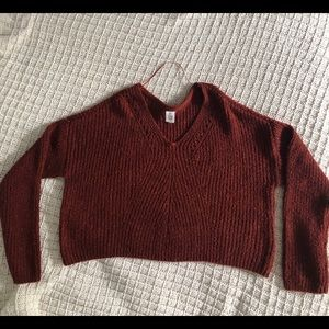 thick knit sweater